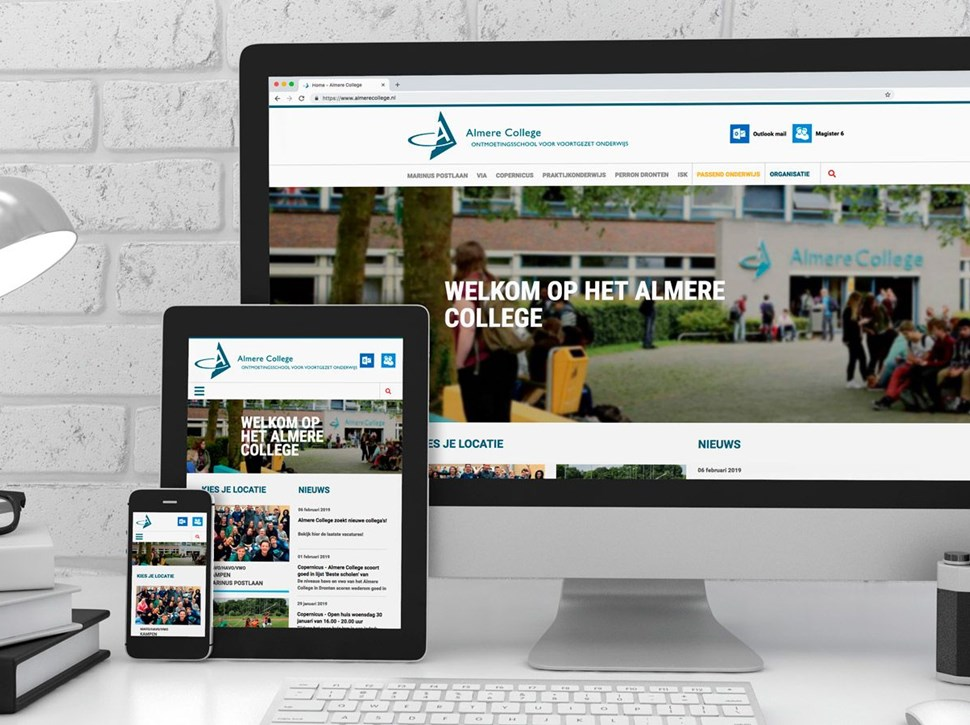 Website Almere College