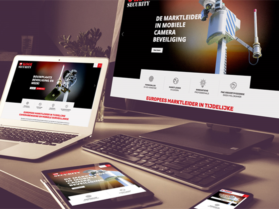 Nieuwe Website Kooi Security